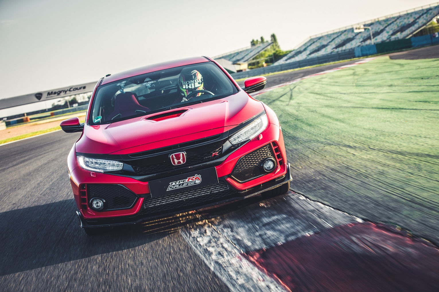 130453 Type R Challenge 2018 Is Go Honda Sets New Lap Record At Magny Cours GP