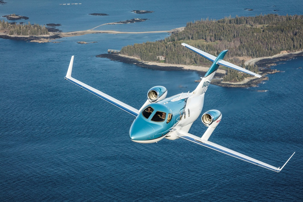 131603 Honda Aircraft Company Unveils The HondaJet Elite