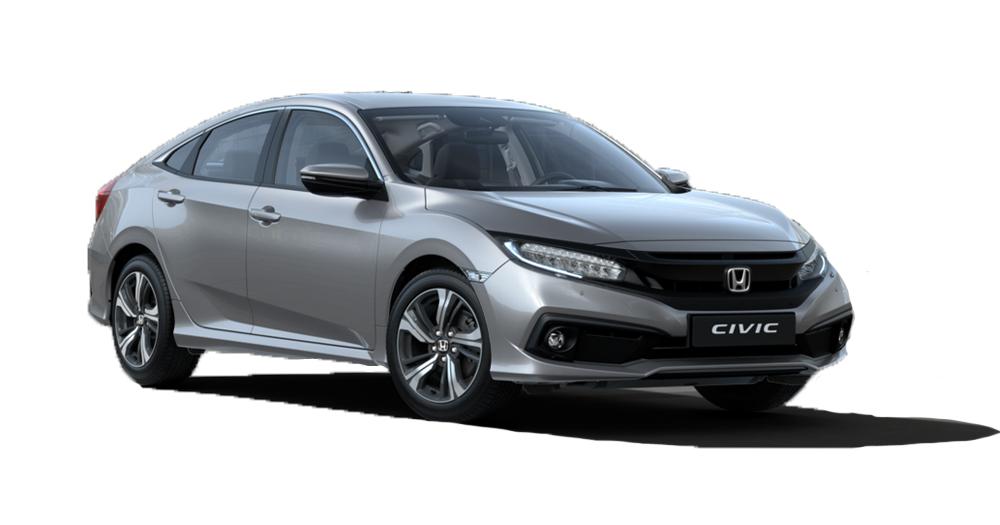 Lunar Silver Metalic Civic
