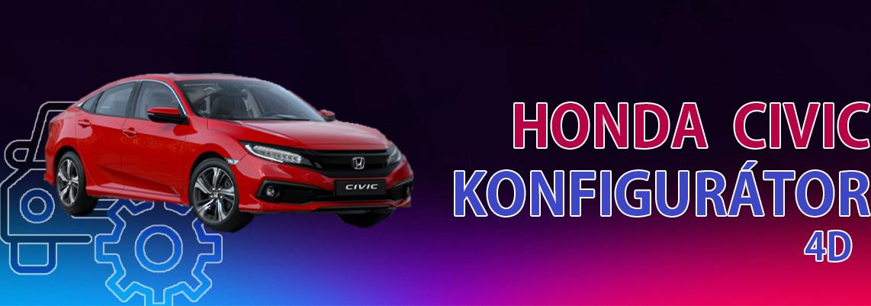 Honda Civic 4D Konfig