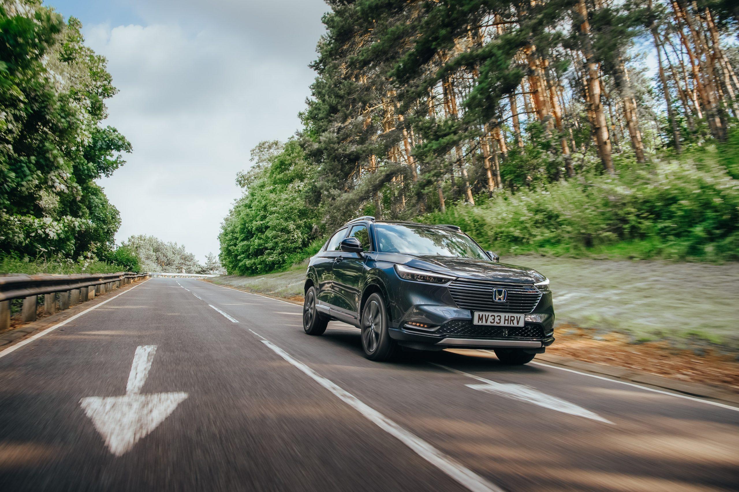 A vezetés örömére tervezve – Honda HR-V Hibrid